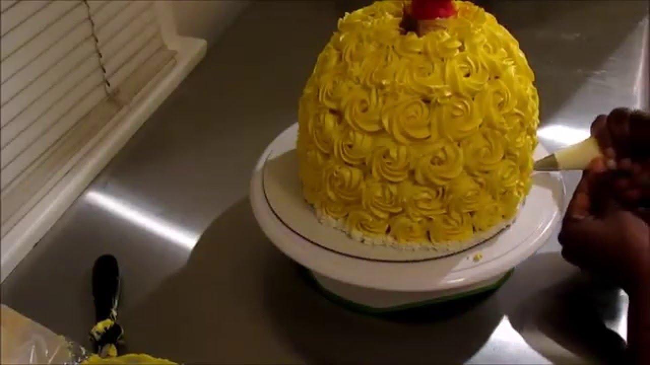 Belle Doll Cake YouTube