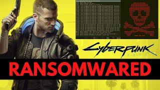 Cyberpunk's Company Hacked by HelloKitty Ransomware: Live Demo
