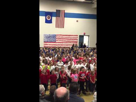 Kasson Mantorville Elementary School Veterans Day thank you! 11/11/14