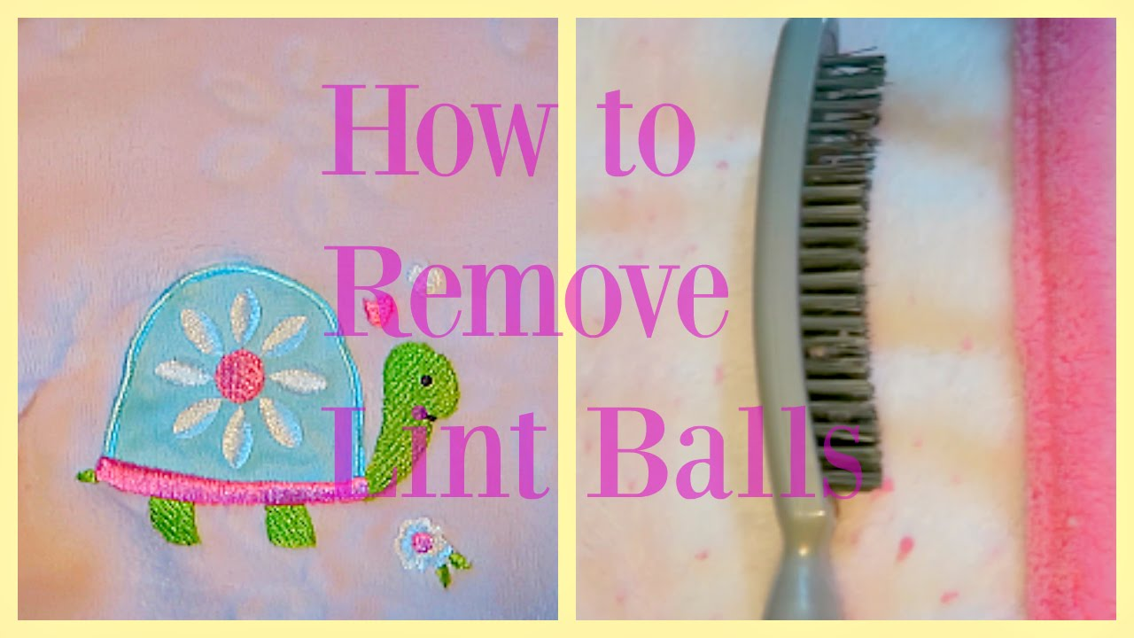 how to remove lint balls from clothes blankets etc youtube. Black Bedroom Furniture Sets. Home Design Ideas