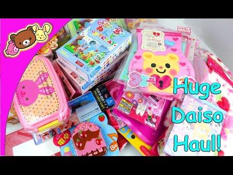 Huge Daiso Haul!