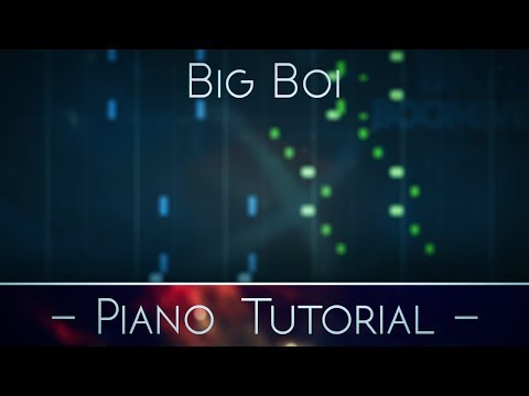 [DOWNLOAD]Big Boi - All Night - Piano TUTORIAL/ Instrumental REMAKE