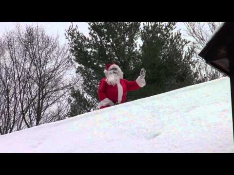 THE REAL SANTA CLAUS CAUGHT ON TAPE