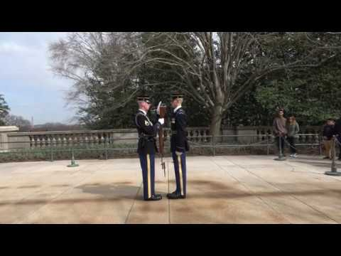 Tomb of the Unknown Soldier.... Changing of the Guard