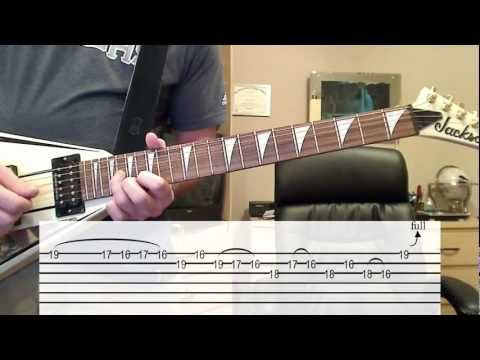 18 and Life (Solo Lesson & Cover) W/ TAB