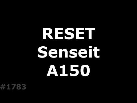 Hard Reset Senseit A150