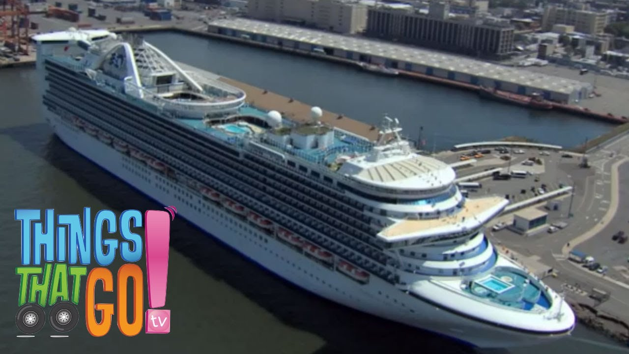 * CRUISE SHIP * | Boats For Kids | Things That Go TV ...