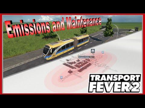 Transport Fever 2 Emissions and Maintenance explained |