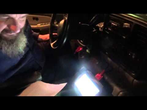 Programming key fobs for a 2002 Chevy Tahoe  with an Autel Maxidas DS708