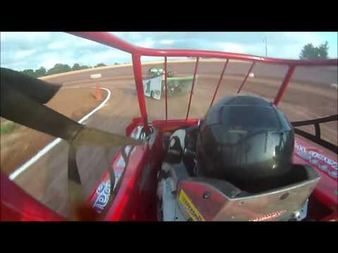 ZACH WIGAL SKYLINE SPEEDWAY HEAT RACE 6 16 17