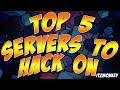 Minecraft | TOP 5 SERVERS TO HACK ON (NO ANTICHEAT)
