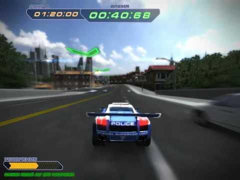 Прохождение игры Гонки на полицейских суперкарах Миссия 1