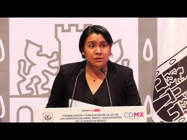 Publicación de la Ley de Niñas, Niños y Adolescentes de la Ciudad de México