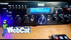 PYLE PDA6BU Bluetooth Stereo Amplifier In Depth Look