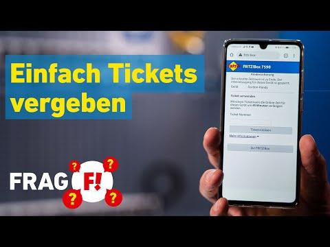 Tickets erstellen bei aktiver Kindersicherung? | Frag FRITZ! 30