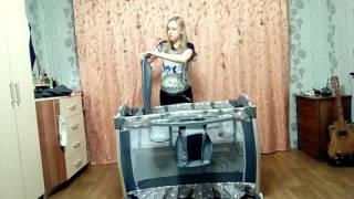 видео Кровать манеж Bertoni ARENA-2 PLUS. Фото. Отзыв. Год спустя...