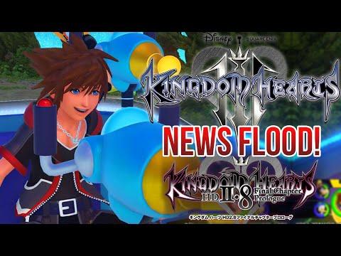 Kingdom Hearts 3 and 2.8 NEWS FLOOD!