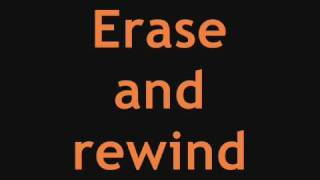 [3.16 MB] *Ashley Tisdale* - Erase & Rewind [Best Quality] Full Song + Lyrics On Screen