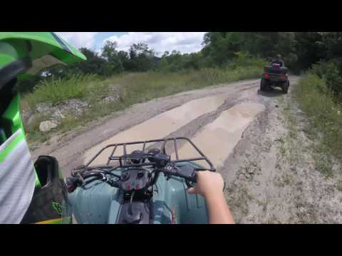 Riding Around Mahoning Sportsmans Association With My Dad (Part 1)