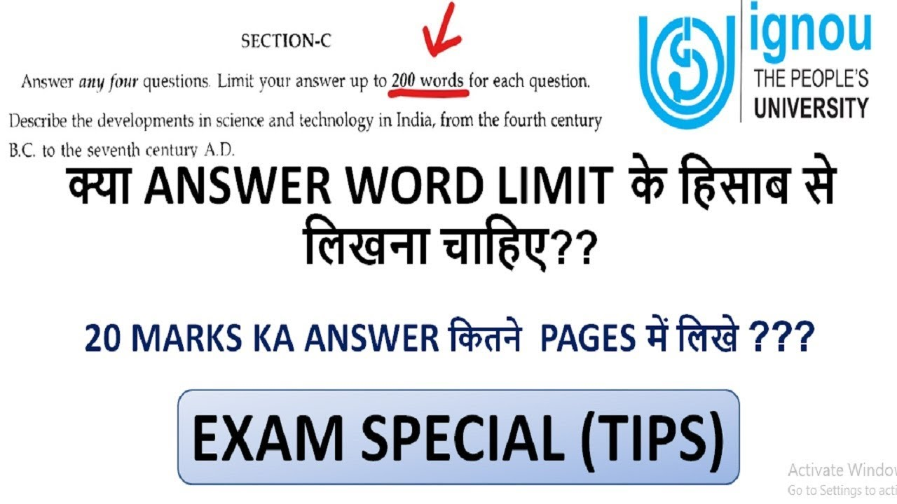 ignou assignment writing tips Break down the assignment think of assignment writing as a series of steps which include the following.