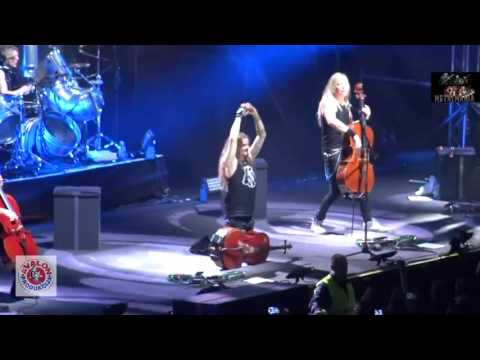 APOCALYPTICA - Seek and Destroy (live, Skopje 05-04-2017)