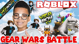 "Roblox - Epic ""Gear Wars"" Battle 