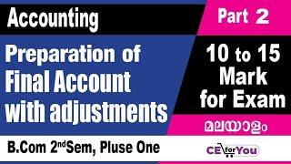 Download #PreparationofFinalAccountsMalayalam, #Problem Solving in FinalAccounts, #CorporateAccounting