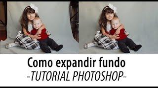 Tutorial Photoshop - Como expandir fundo de foto (ferramentas carimbo e correção)