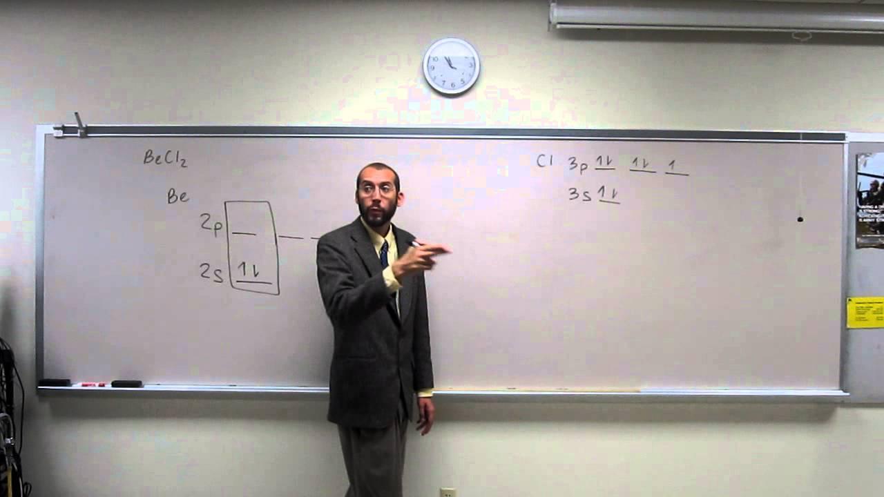 Determining hybridization orbitals youtube