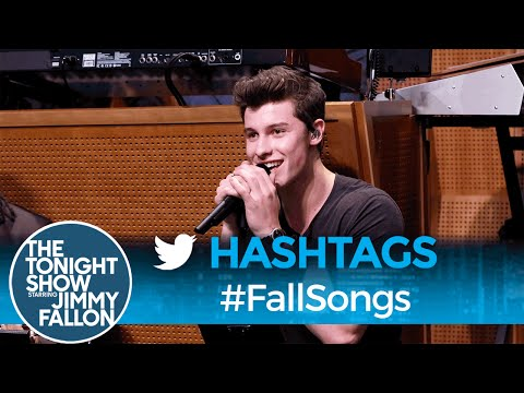 Thumbnail: Hashtags: #FallSongs with Shawn Mendes