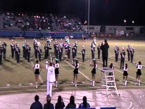 MOSS POINT HIGH SCHOOL HALF TIME SHOW OCT 2010