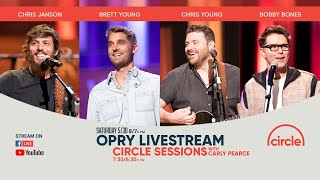 Opry Livestream - Chris Janson, Brett Young, Chris Young, and host Bobby Bones