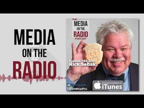 Media on the Radio EP # 53 with Rick Sebak