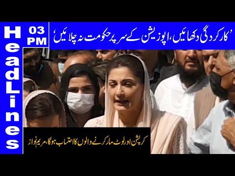 No differences in PDM, reiterates Maryam Nawaz