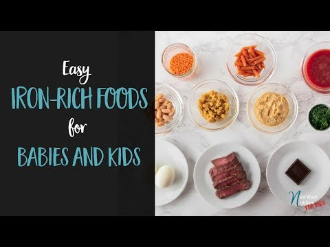 Iron Wealthy Foods for kids