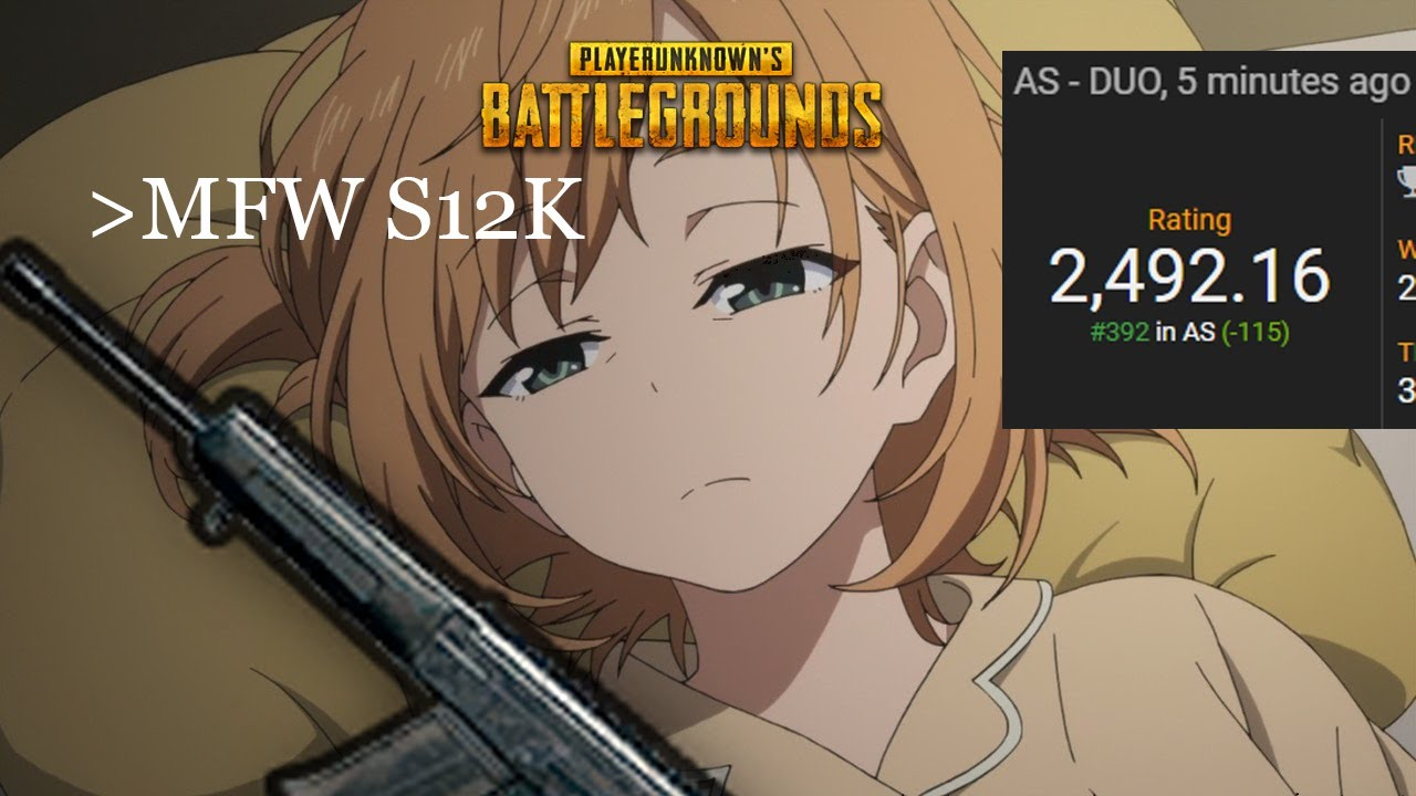 Pubg Anime Grill Gets Top  In Asia Duo