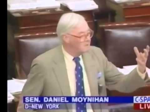 New York Senator Patrick Moynihan