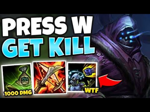 WTF?! ONE COMBO MELTS ANYONE! FULL AP JAX MID IS DISGUSTING - League Of Legends