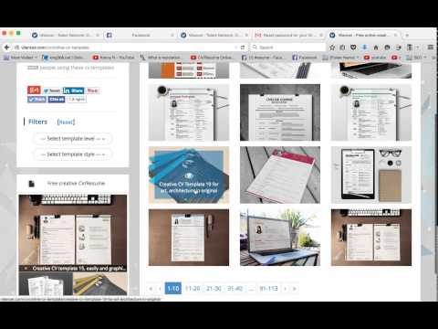 how to design and write cv resume with vilancer