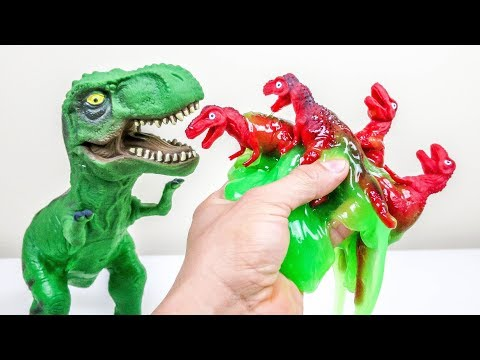 Dinosaur Parasite 2!!  Cutting open Dinosaurs! What's Inside??