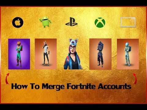[Easy GUIDE] How To Merge Fortnite Accounts (Game)