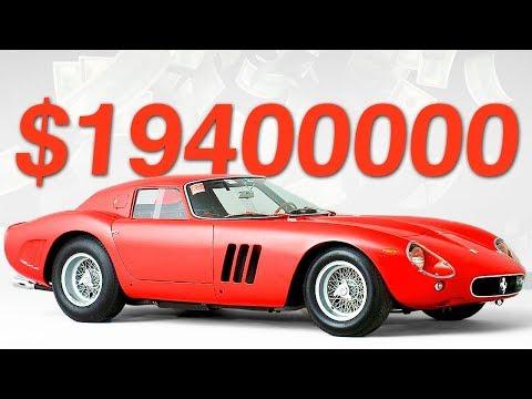 ТОП 5 самые дорогие РЕТРО автомобили, проданные НА АУКЦИОНЕ!