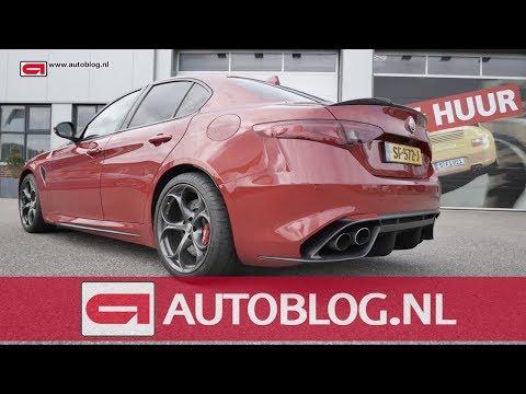Mijn auto: Alfa Romeo Giulia Quadrifoglio van Jeroen