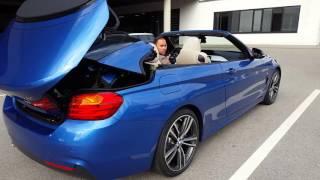 BMW 430i Cabrio limousine M Paket   München Bayern Deutschland 2016