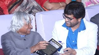 Actor Vivek's Condolence Message for Dr Abdul Kalam's Death