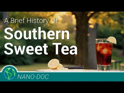 A Brief History Of Sweet Tea