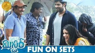 Mister Movie Fun on Sets | Varun Tej | Lavanya Tripathi | Hebah Patel | Sreenu Vaitla | #Mister