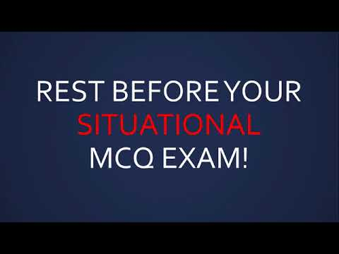 REST BEFORE YOUR PMP EXAM!
