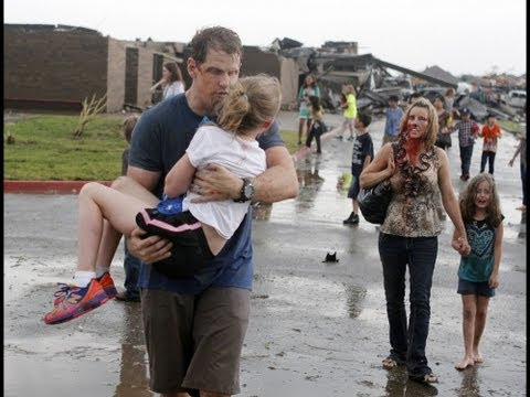 May 20th 2013 Massive Tornado Kills Dozens in Oklahoma America