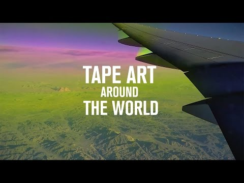 TAPE THAT X Tape Art Around The World | Asia